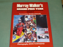 MURRAY WALKER'S Grand Prix Year ( Vol 2 1988) softback